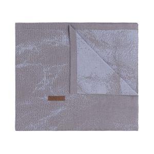 Couverture lit bébé Marble cool grey/lilas