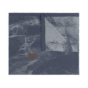 Couverture lit bébé Marble granit/gris