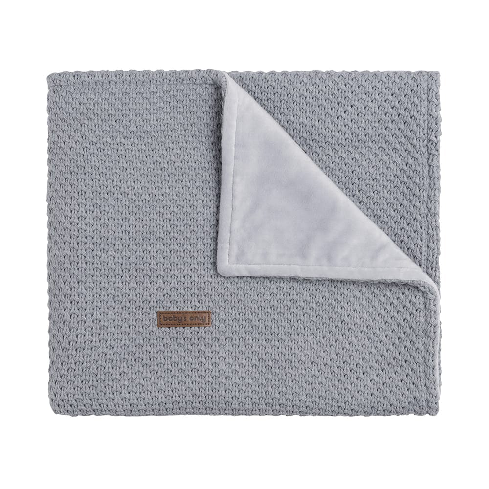 couverture lit bb soft flavor gris