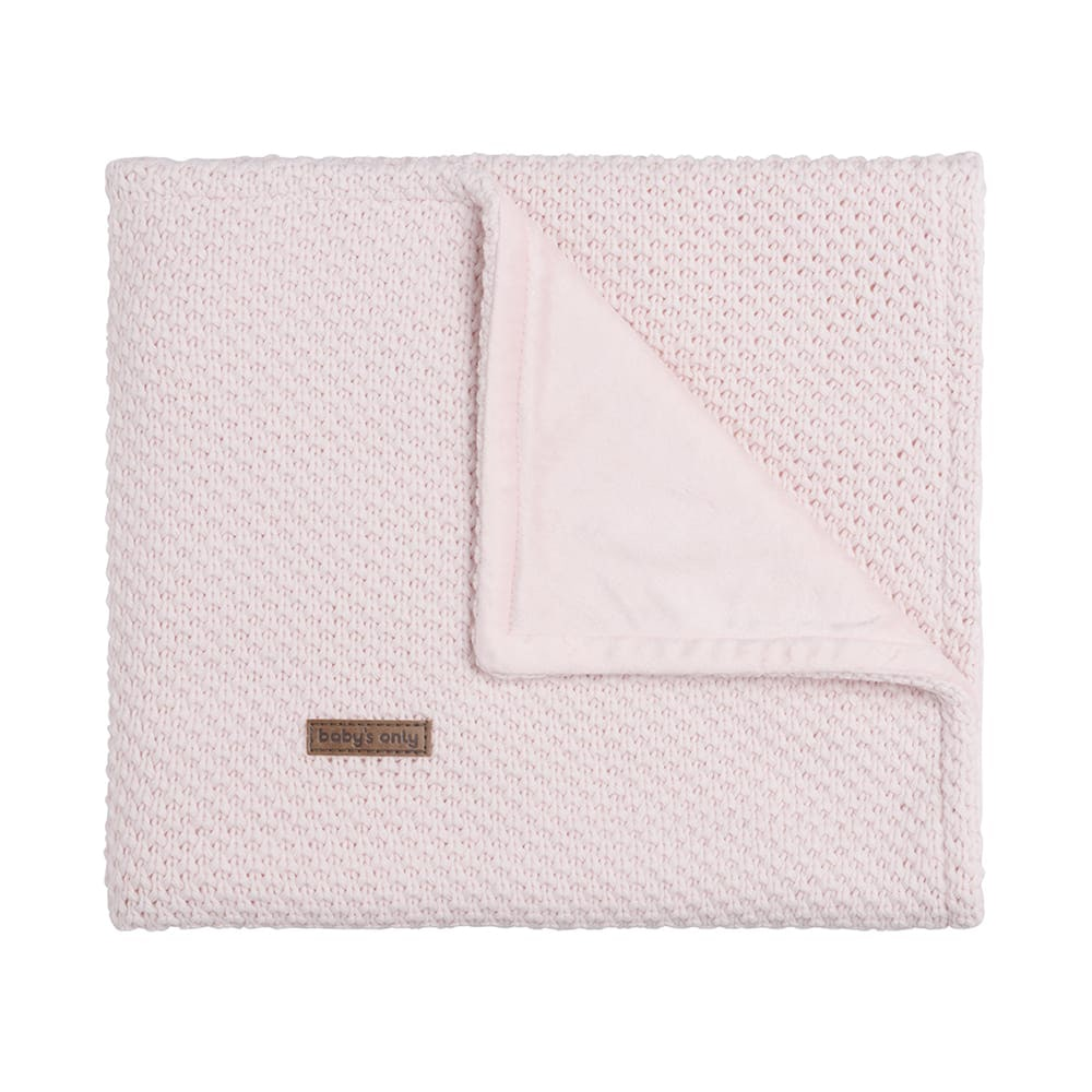 couverture lit bb soft flavor rose trs clair