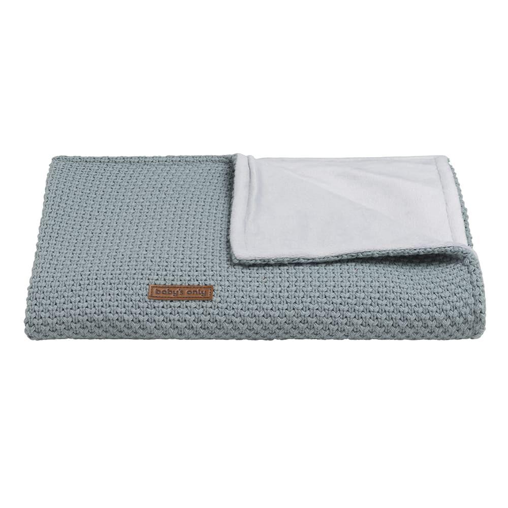 couverture lit bb soft flavor stonegreen