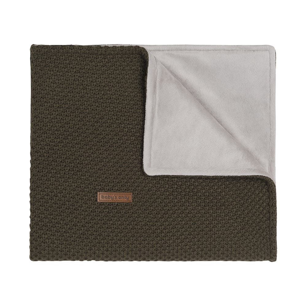 couverture lit bb soft flavor vert