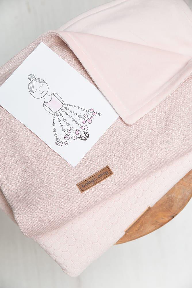 couverture lit bb soft sparkle ivoiredor ml