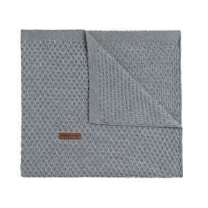 Couverture lit bébé Sun gris/gris argenté