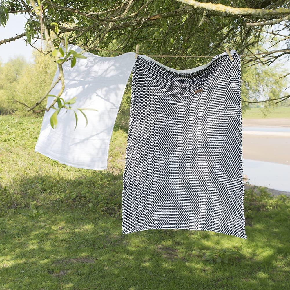 couverture lit bb sun grisgris argent