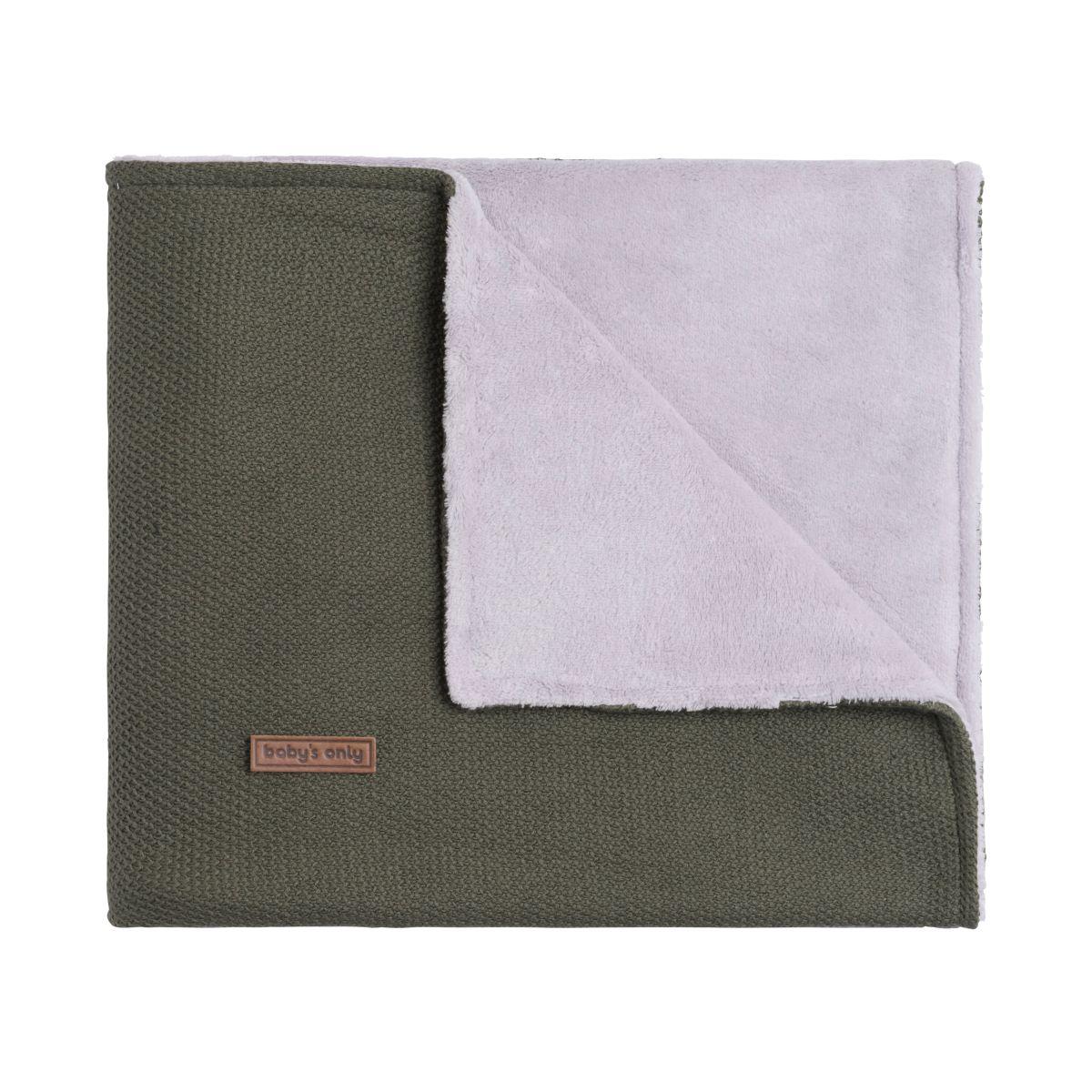 couverture lit bb teddy classic khaki