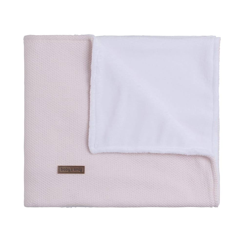 couverture lit bb teddy classic rose trs clair