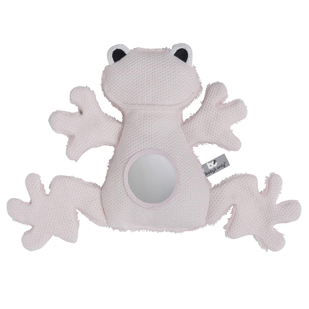 doudou dveil grenouille rose trs clair
