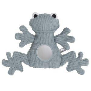 Doudou d'éveil grenouille stonegreen