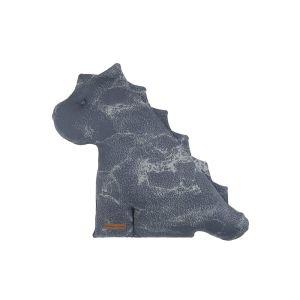Doudou dino Marble granit/gris - 40 cm