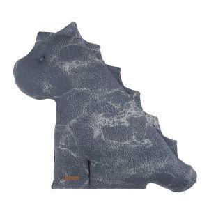 Doudou dino Marble granit/gris - 55 cm