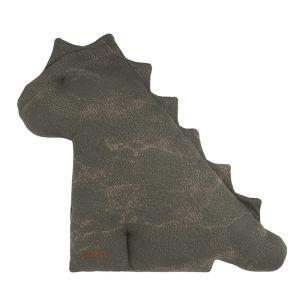 Doudou dino Marble khaki/olive - 55 cm
