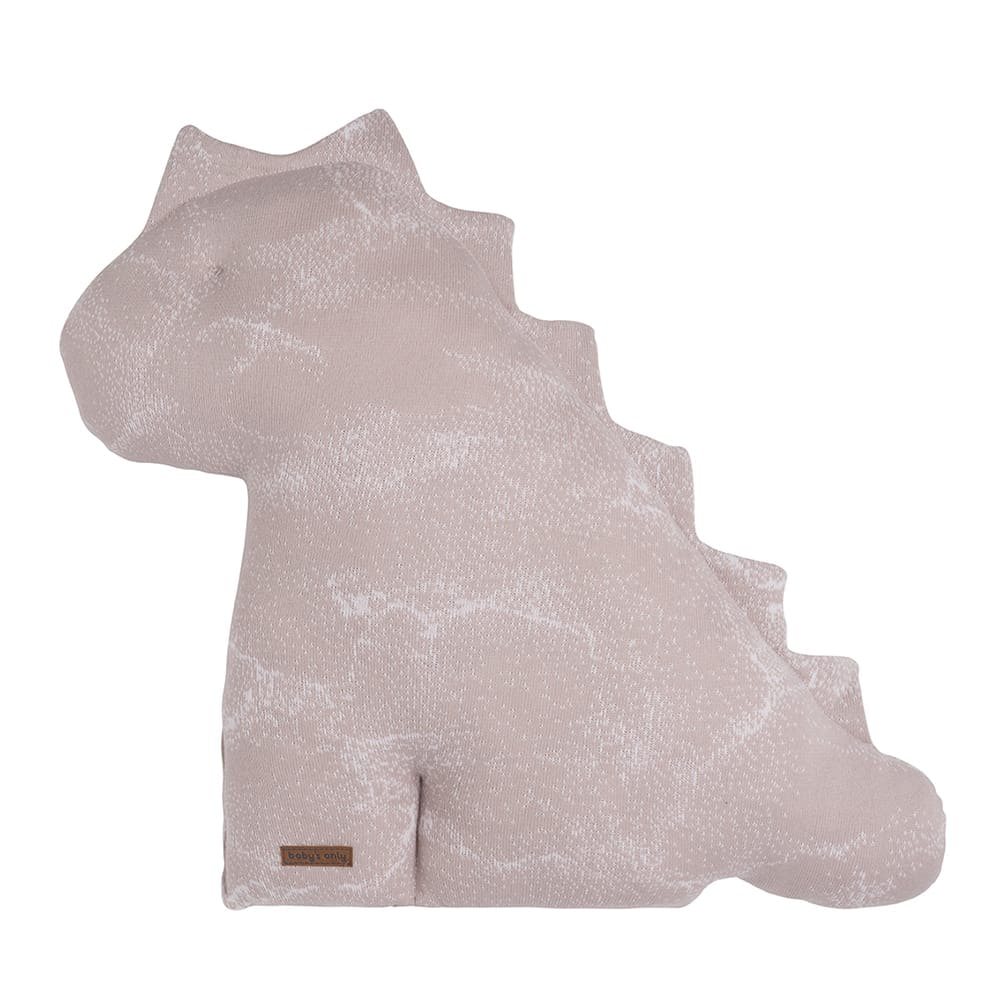 doudou dino marble vieux roserose trs clair 55 cm
