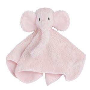 Doudou Éléphant rose très clair