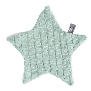 Doudou étoile Cable mint