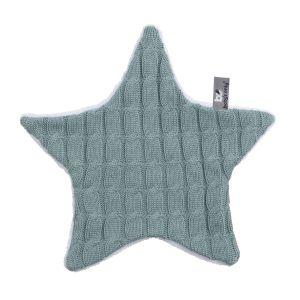Doudou étoile Cable stonegreen