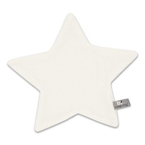Doudou étoile Classic blanc cassé