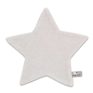 Doudou étoile Classic gris argent