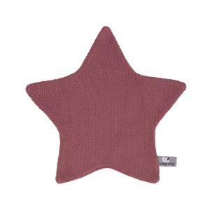 Doudou étoile Classic stone red