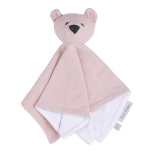 Doudou ours Reef misty pink