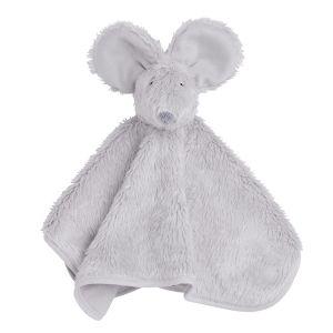 Doudou souris gris argent