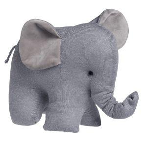Éléphant Sparkle gris-argent mêlé