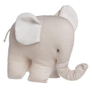 Éléphant Sparkle ivoire-doré mêlé