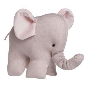 Éléphant Sparkle rose-argent mêlé
