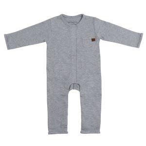 Grenouillère Melange gris - 56