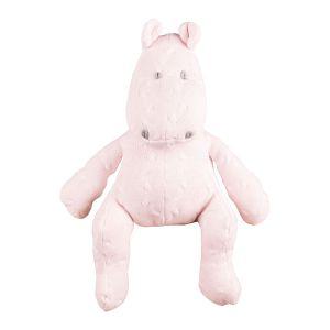 Hippopotame Cable rose très clair