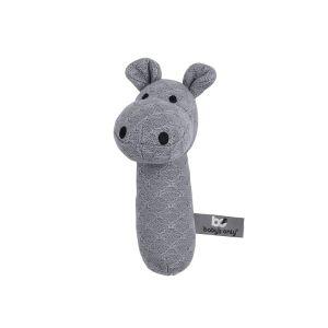 Hochet Hippopotame gris