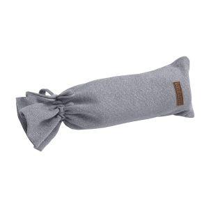 Housse bouillote Sparkle gris-argent mêlé