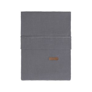 Housse de couette Breeze anthracite - 100x135