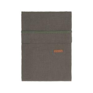 Housse de couette Breeze khaki - 100x135