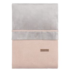 Housse de couette Classic blush - 100x135
