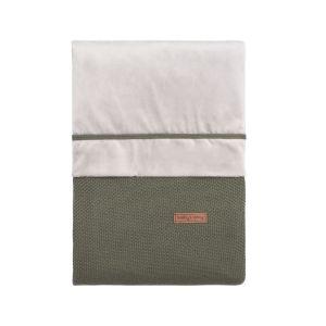 Housse de couette Classic khaki - 100x135