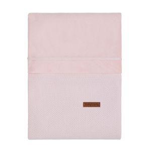 Housse de couette Classic rose très clair - 100x135