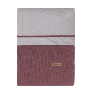 Housse de couette Classic stone red - 100x135 cm