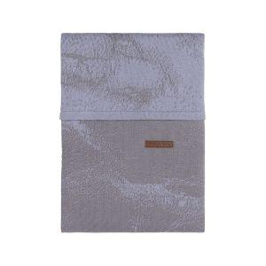 Housse de couette Marble cool grey/lilas - 100x135
