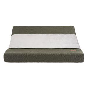 Housse matelas à langer Classic khaki - 45x70