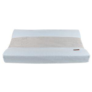 Housse matelas à langer Classic poudre bleu - 45x70