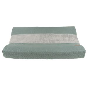 Housse matelas à langer Classic stonegreen - 45x70