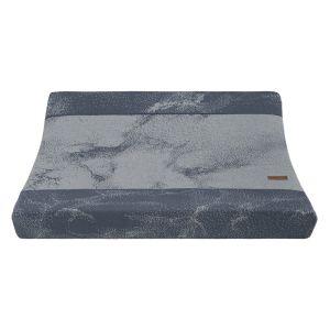 Housse matelas à langer Marble granit/gris