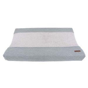 Housse matelas à langer Sun gris/gris argenté - 45x70