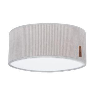 Lampe de plafond Sense caillou gris - Ø35 cm