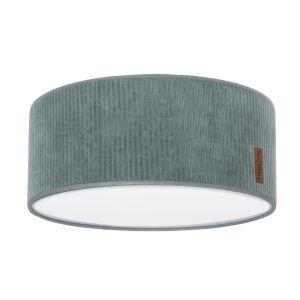 Lampe de plafond Sense vert d'eau - Ø35 cm