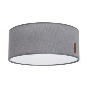 Lampe de plafond Sparkle gris-argent mêlé - Ø35 cm