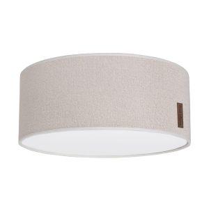 Lampe de plafond Sparkle ivoire-doré mêlé - Ø35 cm