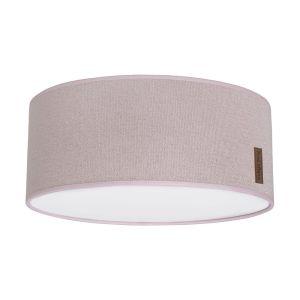 Lampe de plafond Sparkle rose-argent mêlé - Ø35 cm