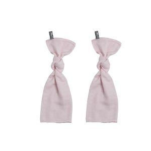 Lange bébé rose très clair - 65x65 - 2-pack